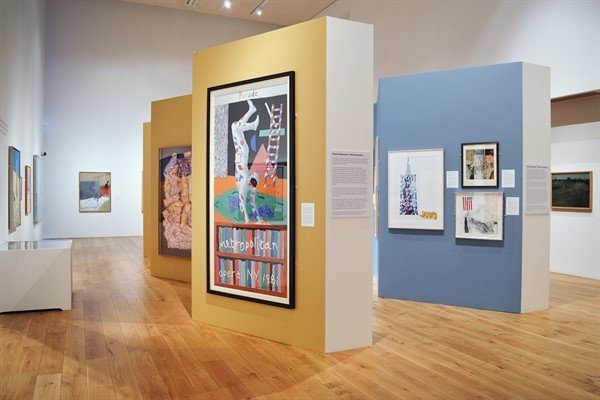 Exhibition-view-of-David-Hockney-Ways-of-Working-credit-The-Lightbox