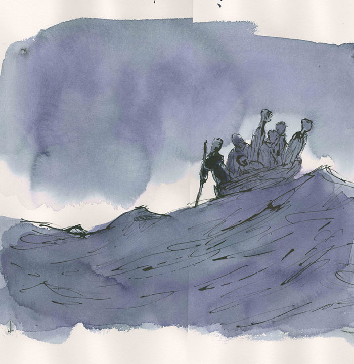 On-The-Move-by-Quentin-Blake-©-The-Artist-Sir-Quentin-Blake