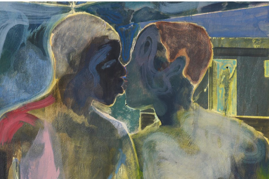 Michael Armitage, Kampala Suburb, Private Collection, London. Courtesy of Whitechapel Gallery.