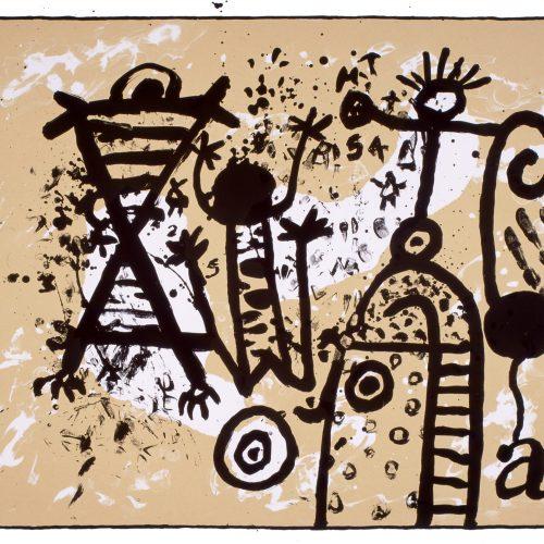 Earth Spirit Dance, Alan Davie