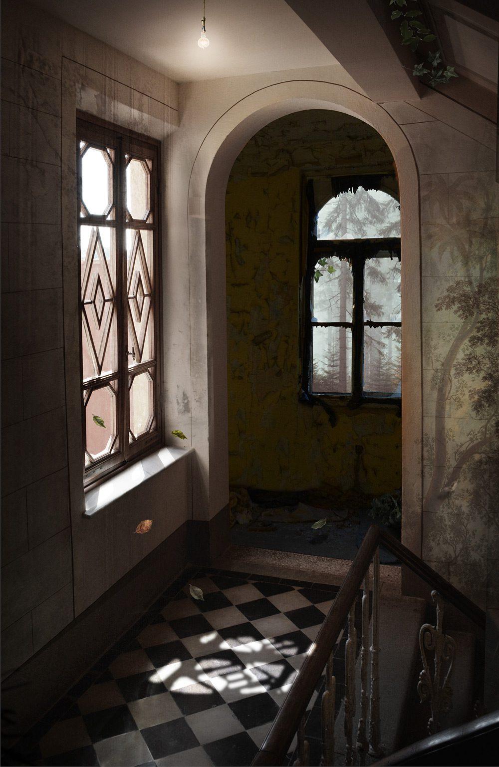 Balustrade, Suzanne Moxhay, James Freeman Gallery