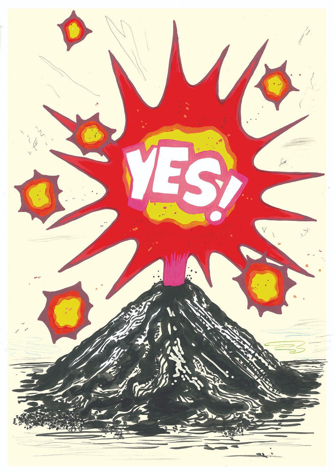 Paul Davis, Yes Volcano, Jealous