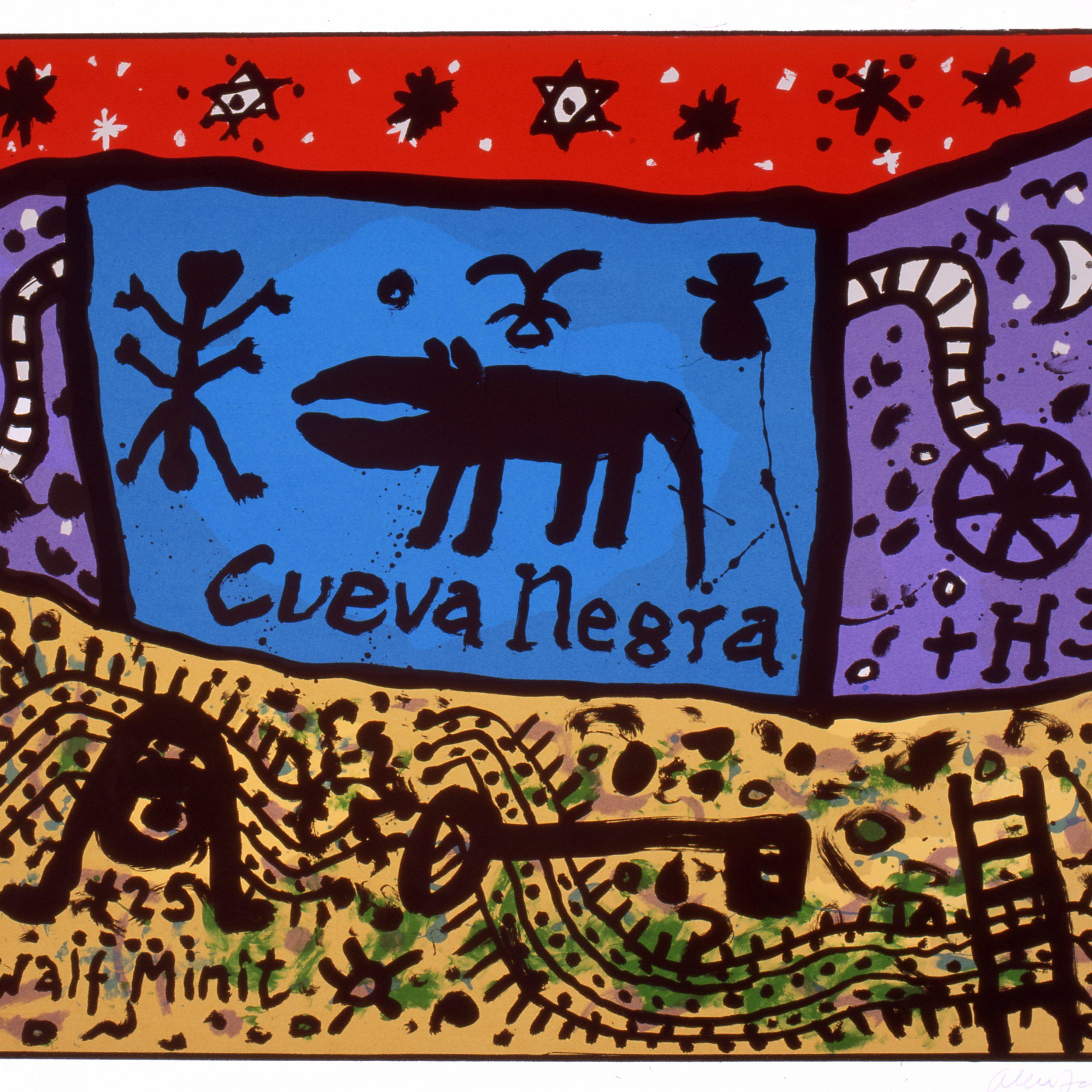 Alan Davie Cueva Negra