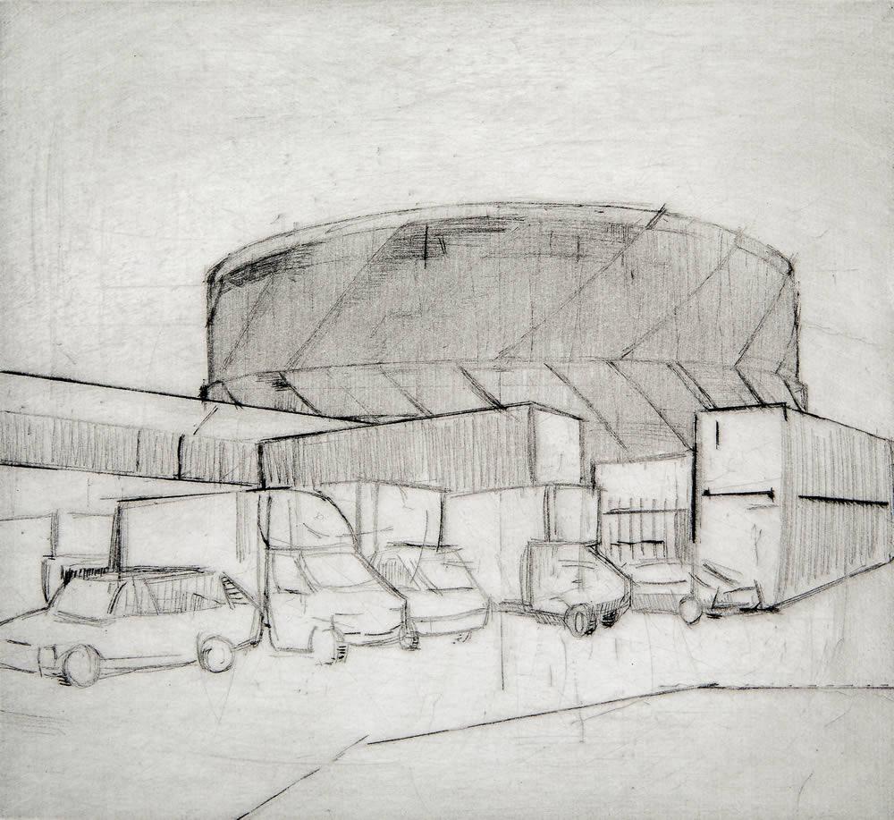 Daniel Preece, Wandsworth Town Gasomete Kittoe Contemporary