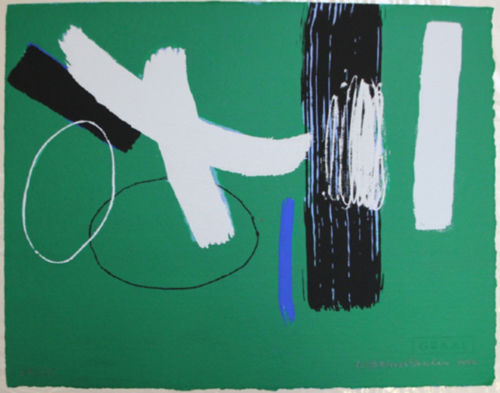 66. £900, Milennium Series Green, Wilhelmina Barns Gallery, Zuleika Gallery (3)