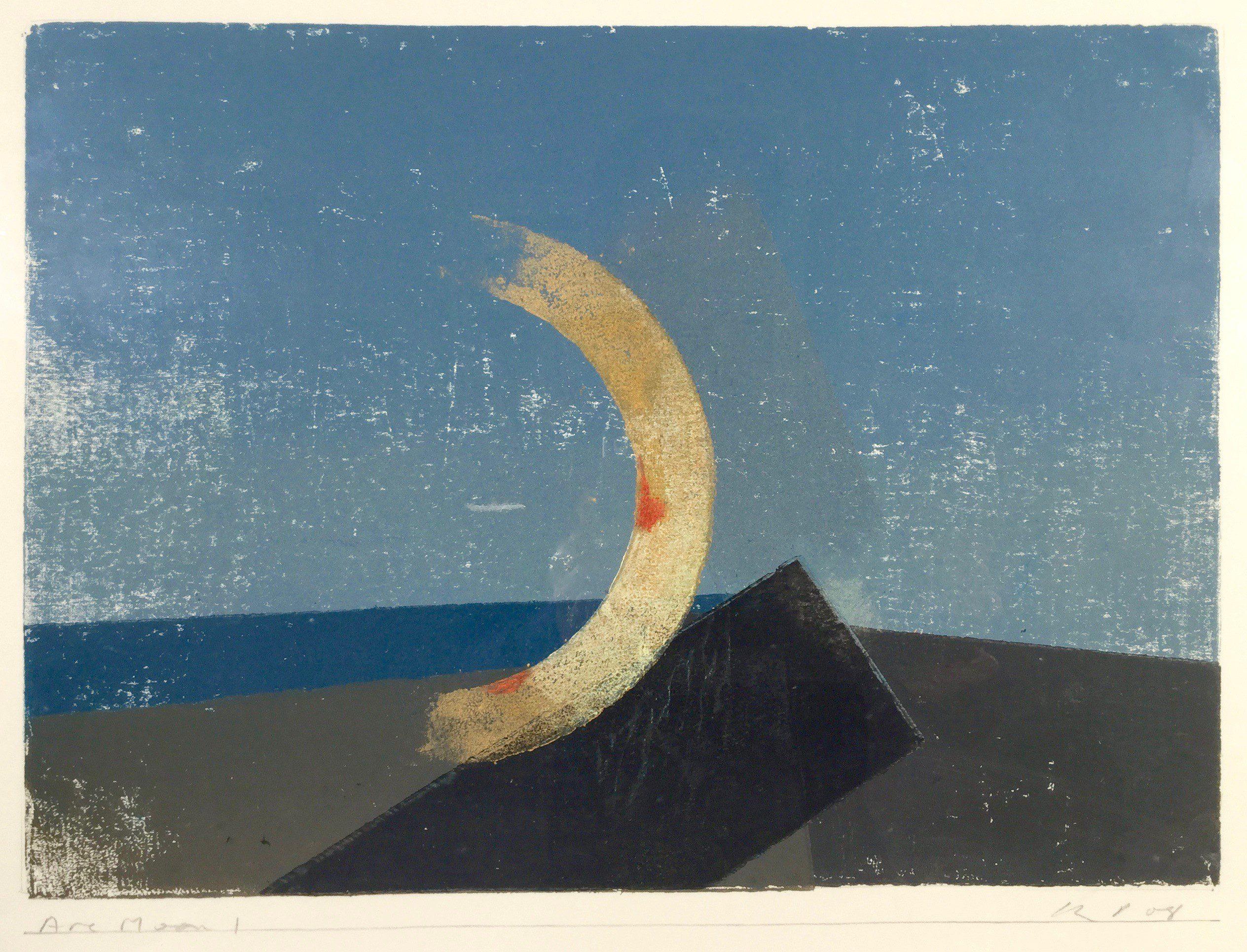 Keith Purser, Arc Moon 1, 2008, Courtesy of Jenna Burlingham Fine Art