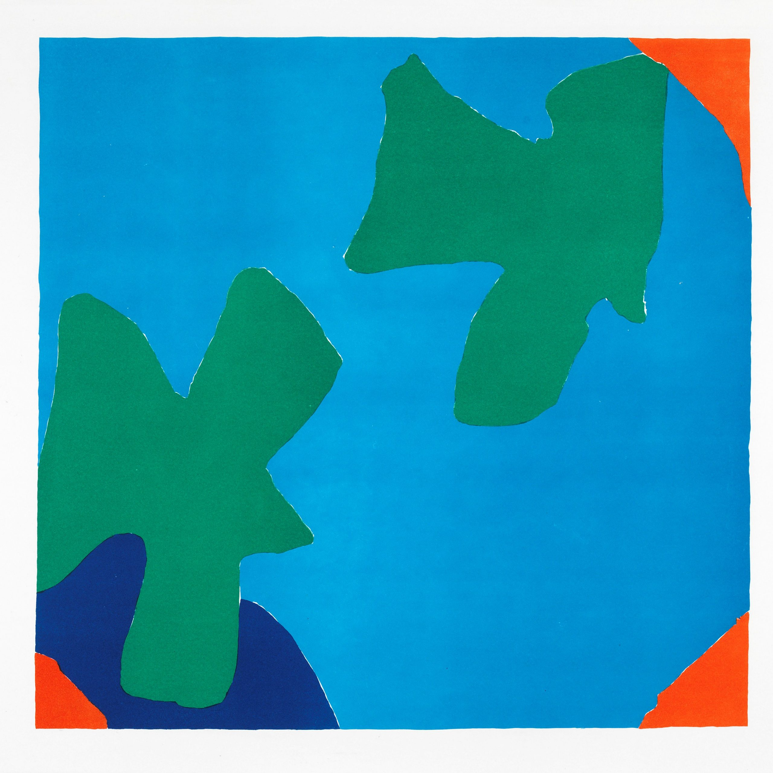 Phillip Sutton, San Francisco, 1966, Courtesy of Jenna Burlingham Fine Art