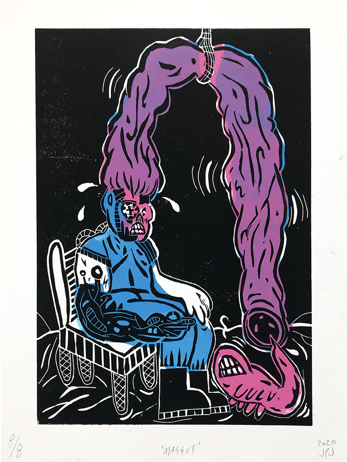 John Powell Jones, Maggot, 2020, Courtesy of IMT Gallery