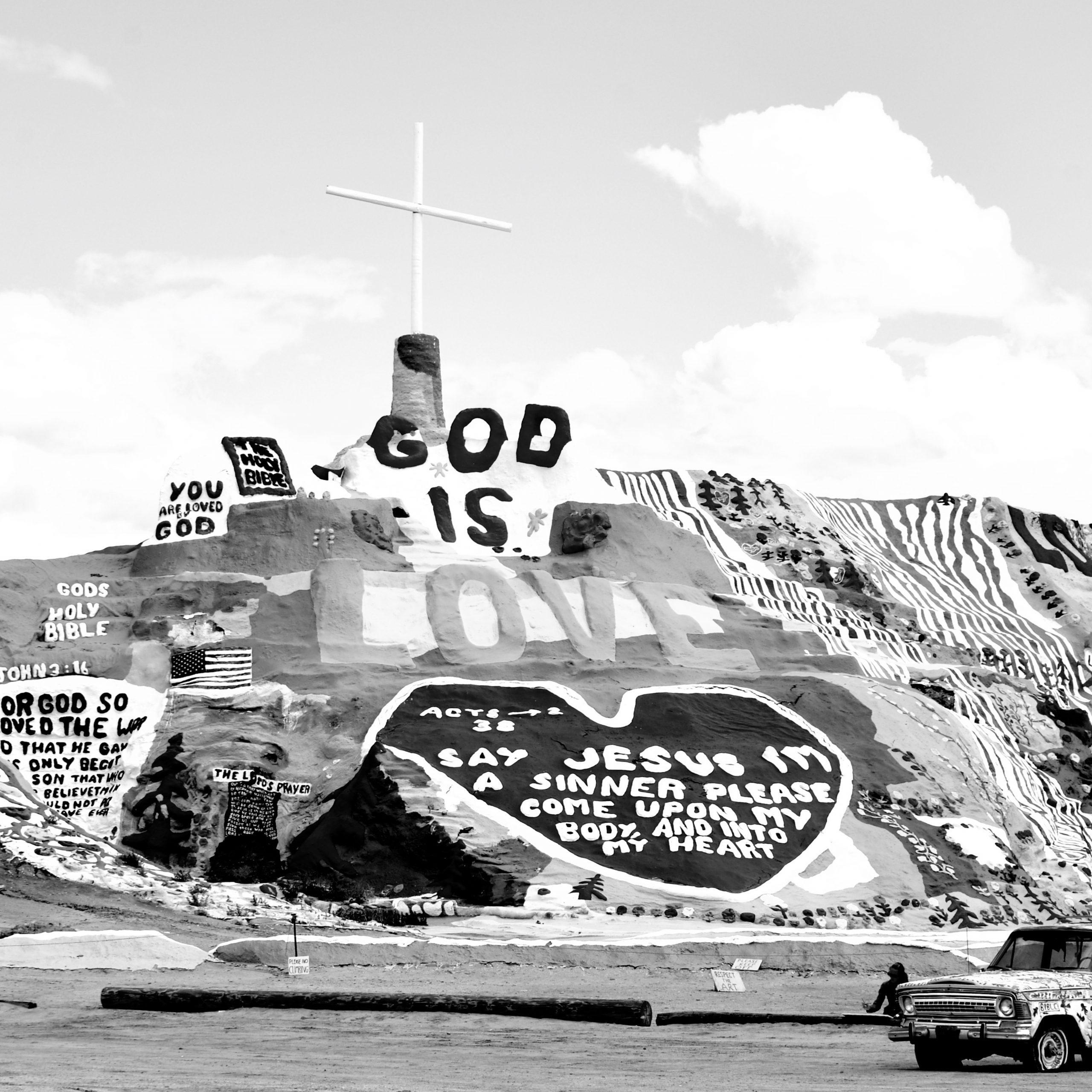 Dallas Seitz, Salvation Mountain, 2020, Courtesy of IMT Gallery
