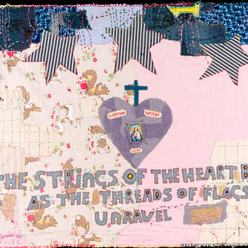 Anthony Stevens - Prayer Flag no 2, 2020