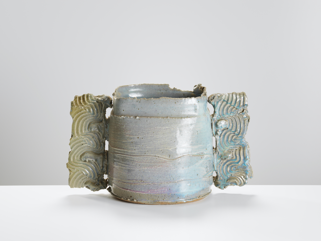 Colin Pearson, Large Winged Pot, c1980s. Courtesy of Oxford Ceramics.