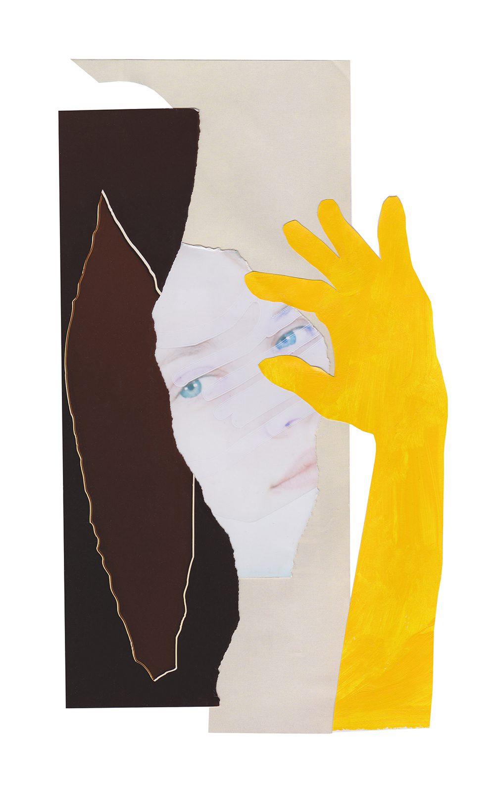Georgia Clemson, I Spy, 2020. 50 x 80cm. Edition 3 & 2Aps. Courtesy of Arte Globale.