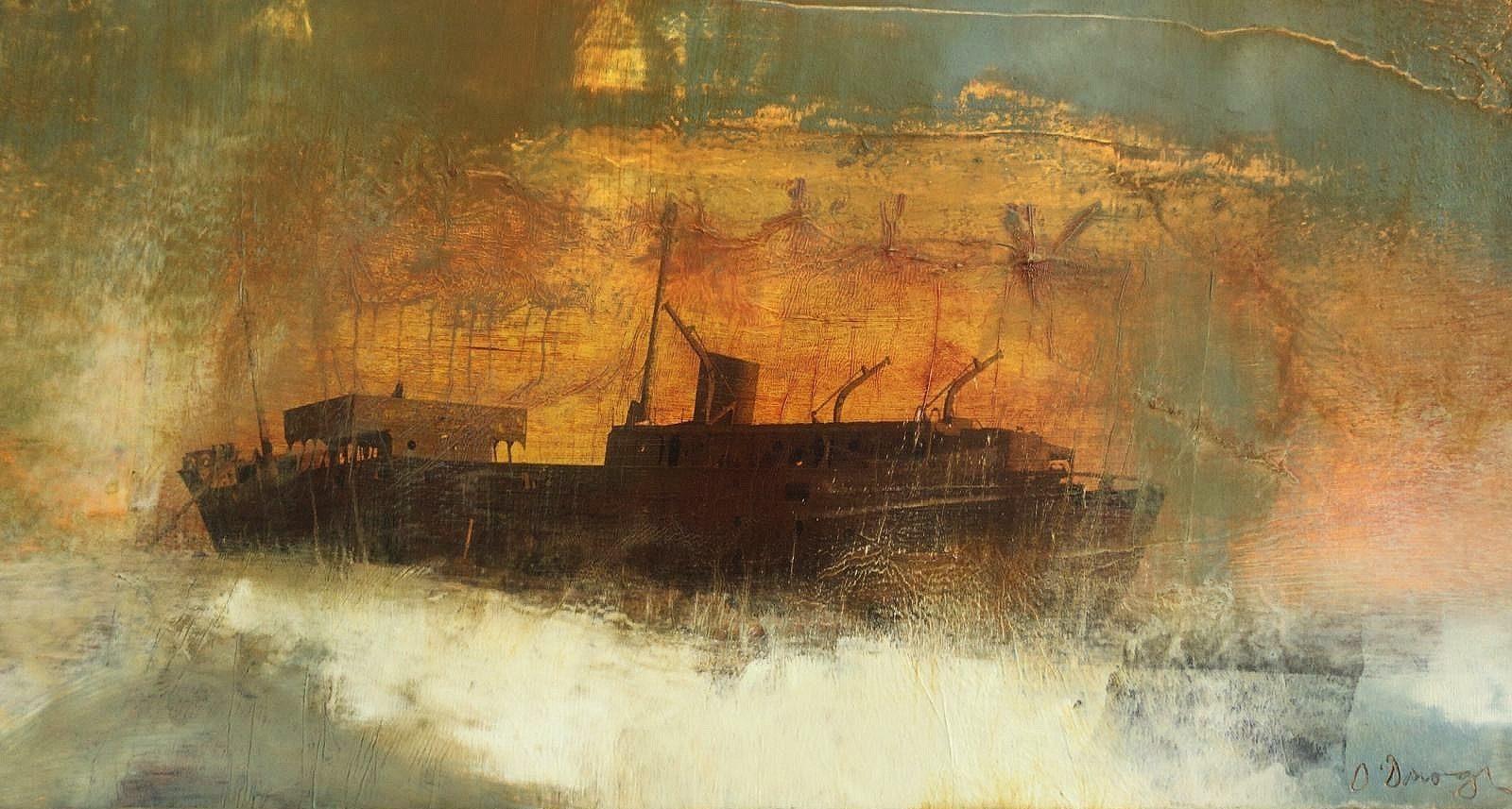 Hughie O'Donoghue (RA), Exodus 6, 2005. Courtesy of Castlegate House Gallery.
