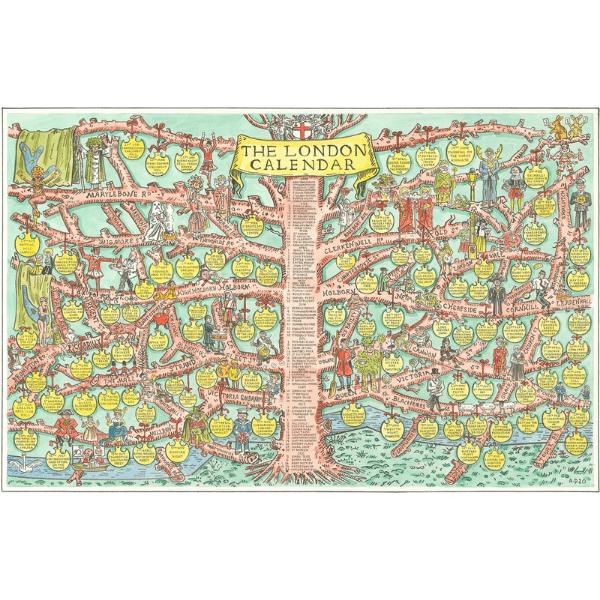 Adam Dant, The London Calendar,