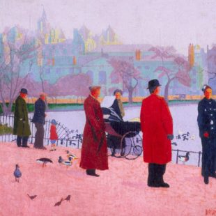 In the Park (St James' Park) , 1911, Drummond © Southampton City Art Gallery
