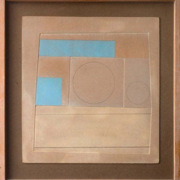 Ben Nicholson, November 1959 (Mycenae 3 - brown and blue), 1959. Courtesy of Piano Noble