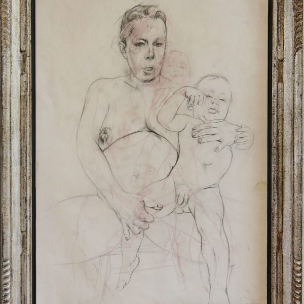 Jenny-Saville-Mother-and-Child-study-ii-in-frame