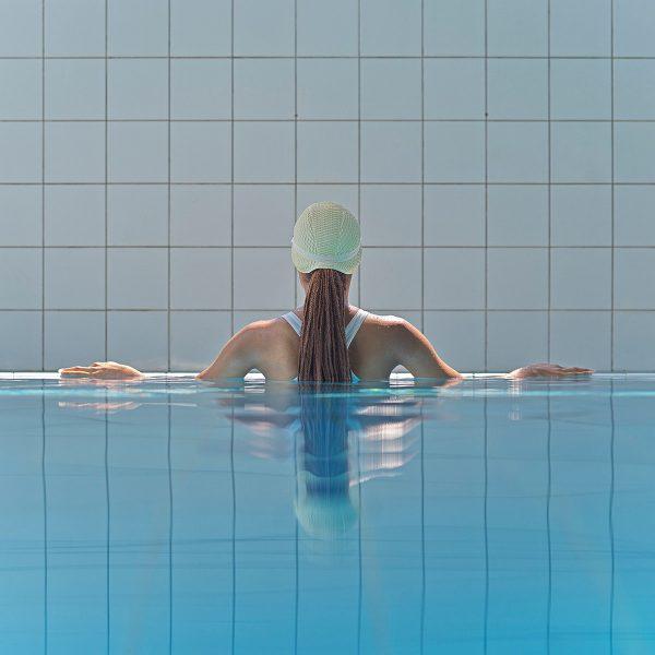 Maria Svarbova, Light in the Shadows, Pool 2020, 2020. Courtesy of ARTITLEDcontemporary.
