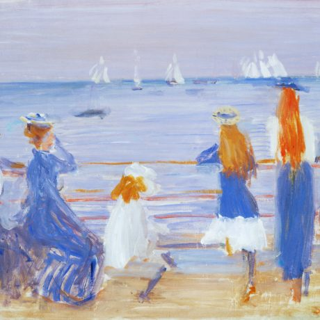 Philip Wilson Steer, Watching Cowes Regatta © Southampton City Art Gallery
