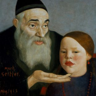 Rabbi and Grandchild , Gertler © Southampton City Art Gallery