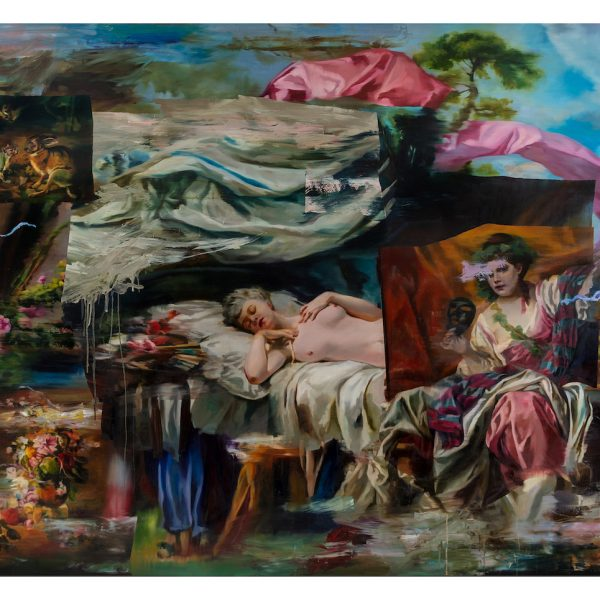 Simon-Casson-Nights-Mizmaze-2021.-Oil-on-canvas-240-x-190cm.-Courtesy-of-Long-Ryle.