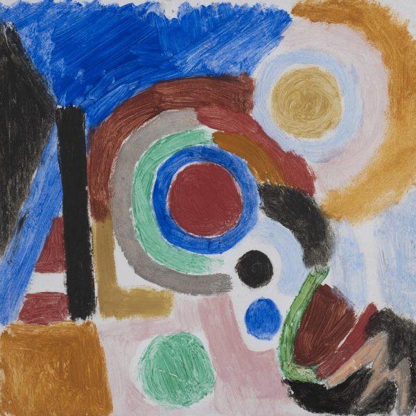 Sonia-Delaunay-Projet-de-Couverture-pour-l'album-No.-1-1916.-Courtesy-of-Crane-Kalman-Gallery.