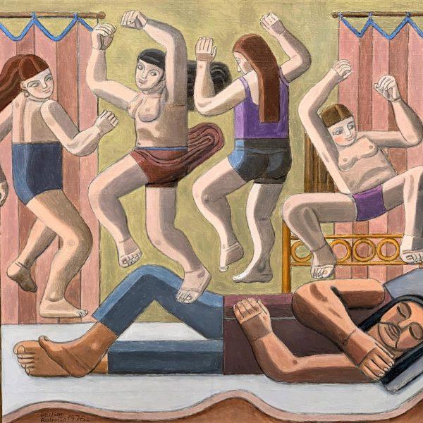 William-Roberts-Dream-of-Dancing-Women-1978.-Courtesy-of-Goodman-Fine-Art.